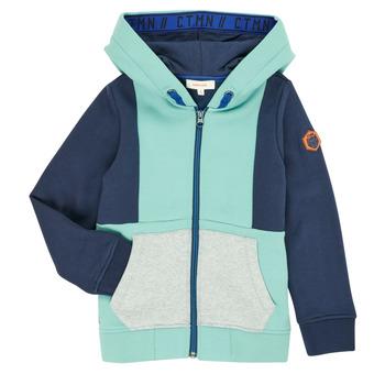 Textiel Jongens Vesten / Cardigans Catimini CR17044-51-C Blauw