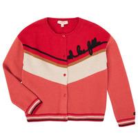 Textiel Meisjes Vesten / Cardigans Catimini CR18015-67-J Multicolour