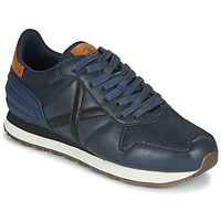 Schoenen Heren Lage sneakers Munich MASSANA Blauw