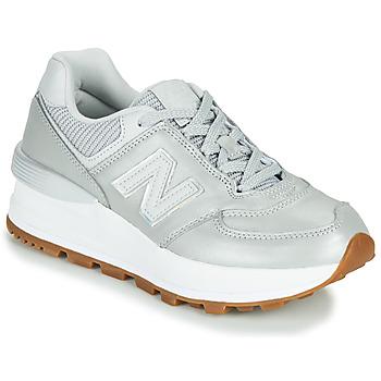 Schoenen Dames Lage sneakers New Balance 574 Grijs