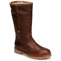 Schoenen Dames Laarzen Panama Jack BAMBINA Brown