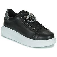 Schoenen Dames Lage sneakers Karl Lagerfeld KAPRI IKONIC TWIN LO LACE Zwart