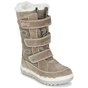 Schoenen Meisjes Snowboots Primigi FROZEN GTX Beige / Brown