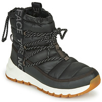 Schoenen Dames Snowboots The North Face W THERMOBALL LACE UP Zwart / Wit