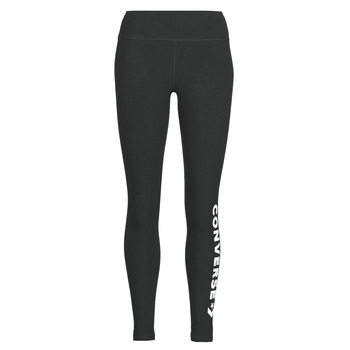 Textiel Dames Leggings Converse CONVERSE WOMENS WORDMARK LEGGING Zwart
