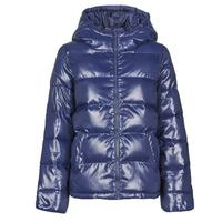 Textiel Dames Dons gevoerde jassen Benetton 2EO0536G3 Marine