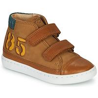 Schoenen Jongens Hoge sneakers Shoo Pom PLAY ALPHA Brown