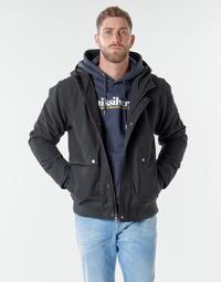Textiel Heren Wind jackets Quiksilver BROOKS M JCKT KVJ0 Zwart