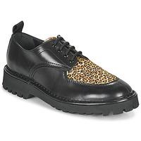 Schoenen Dames Derby Kenzo K MOUNT Zwart / Leopard