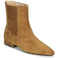 Schoenen Dames Laarzen Kenzo K LINE SOFT  camel