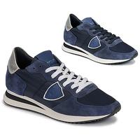 Schoenen Dames Lage sneakers Philippe Model TROPEZ Marine