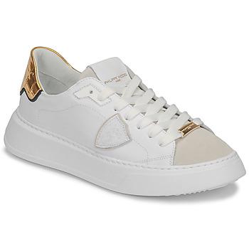 Schoenen Dames Lage sneakers Philippe Model TEMPLE Wit