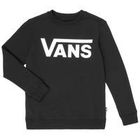 Textiel Kinderen Sweaters / Sweatshirts Vans VANS CLASSIC CREW Zwart