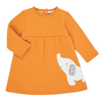 Textiel Meisjes Korte jurken Noukie's Z050083 Orange