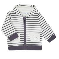 Textiel Jongens Vesten / Cardigans Noukie's Z050151 Wit / Blauw