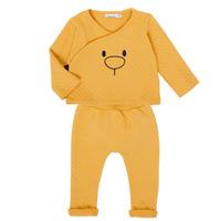 Textiel Meisjes Setjes Noukie's Z050377 Geel