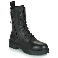Schoenen Dames Laarzen Replay PAMELA STANDING Zwart