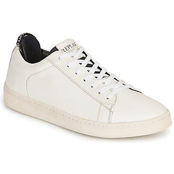 Schoenen Heren Lage sneakers Replay BLOG ERIK Wit
