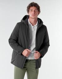 Textiel Heren Wind jackets Geox CLINDFORD Zwart