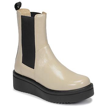 Schoenen Dames Laarzen Vagabond TARA Beige