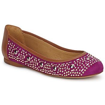 Schoenen Dames Ballerina's Zinda ROMY Violet