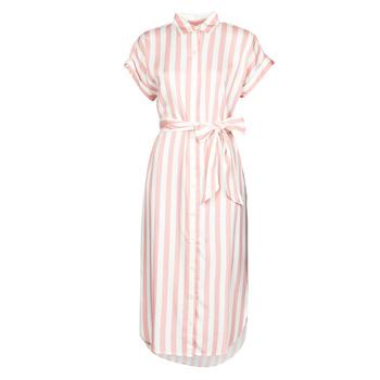 Textiel Dames Lange jurken Lauren Ralph Lauren CICERO Wit / Roze