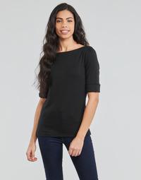 Textiel Dames T-shirts met lange mouwen Lauren Ralph Lauren JUDY Zwart