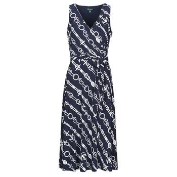 Textiel Dames Lange jurken Lauren Ralph Lauren CARANA Marine
