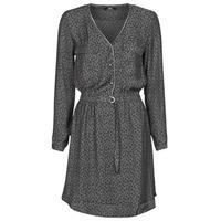 Textiel Dames Korte jurken Le Temps des Cerises RABA Grijs / Zwart
