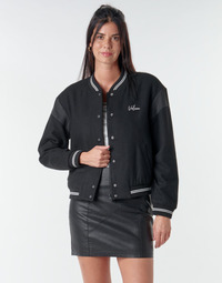 Textiel Dames Wind jackets Volcom TINYTED BOMBER Zwart