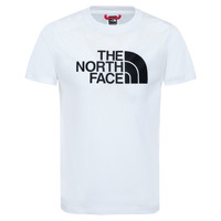 Textiel Jongens T-shirts korte mouwen The North Face EASY TEE Wit