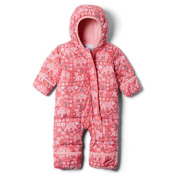Textiel Meisjes Dons gevoerde jassen Columbia SNUGGLY BUNNY Roze