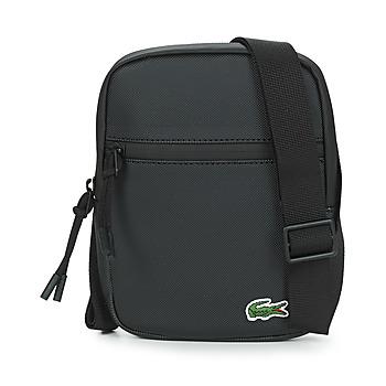 Tassen Heren Tasjes / Handtasjes Lacoste LCST SMALL Zwart