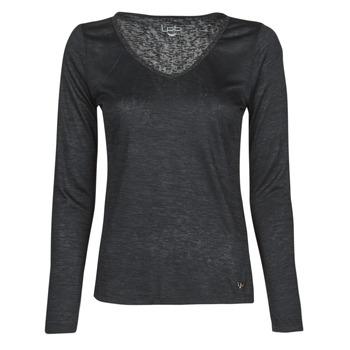 Textiel Dames T-shirts met lange mouwen Les Petites Bombes ADRIANA Zwart