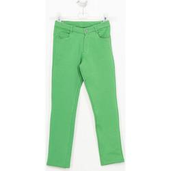 Textiel Meisjes Broeken / Pantalons Tutto Piccolo Pantalon Groen