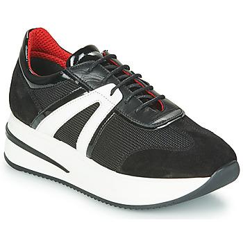 Schoenen Dames Lage sneakers Tosca Blu SF2031S604-C99 Zwart
