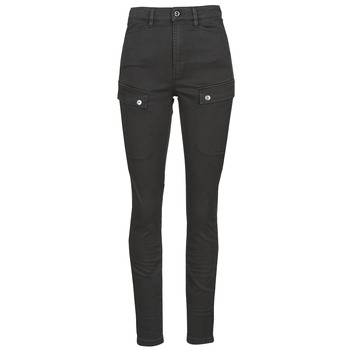 Textiel Dames Cargobroek G-Star Raw BLOSSITE ARMY ULTRA HIGH SKINNY WMN Dk /  zwart / Gd