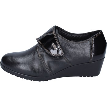 Schoenen Dames Mocassins Adriana Del Nista Baskets BM231 Noir
