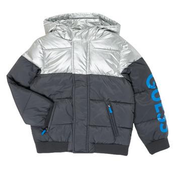 Textiel Jongens Dons gevoerde jassen Guess N0YL00-W7S10-PHTM Grijs