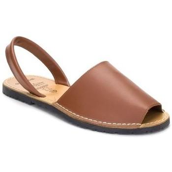 Schoenen Dames Sandalen / Open schoenen Avarca Cayetano Ortuño Avarcas menorquinas de hombre by C. Ortuño Marron