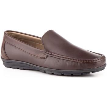 Schoenen Heren Mocassins Iberico Shoes Mocasines de piel by Marron