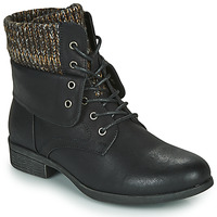 Schoenen Dames Laarzen Spot on F50613 Zwart