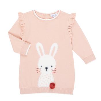 Textiel Meisjes Korte jurken Absorba 9R30092-312-B Roze