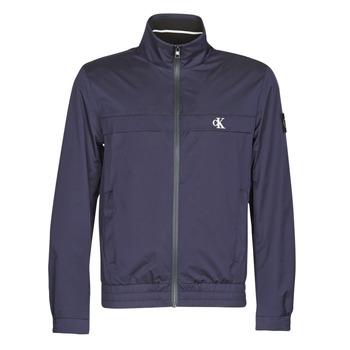 Textiel Heren Wind jackets Calvin Klein Jeans ZIP UP HARRINGTON Marine