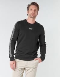 Textiel Heren Sweaters / Sweatshirts HUGO DOBY203 Zwart