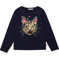 Textiel Meisjes T-shirts met lange mouwen Billieblush / Billybandit U15805 Blauw