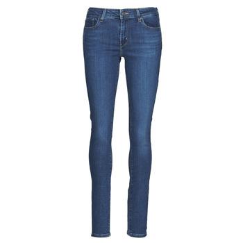 Textiel Dames Skinny Jeans Levi's 711 SKINNY Bogota / Life