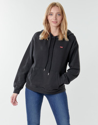 Textiel Dames Sweaters / Sweatshirts Levi's STANDARD HOODIE Zwart