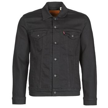 Textiel Heren Spijker jassen Levi's THE TRUCKER JACKET Zwart