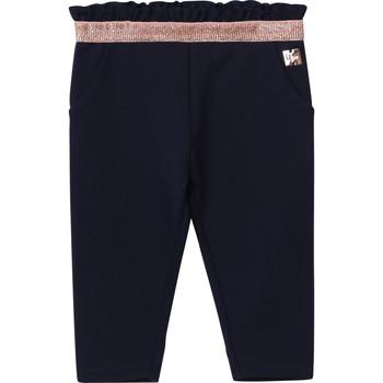 Textiel Meisjes 5 zakken broeken Carrément Beau Y94194 Blauw